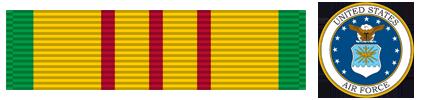 Vietnam Service - U.S. Air Force