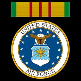Vietnam Service Ribbon - United States Air Force
