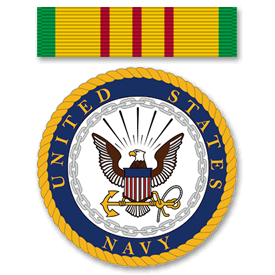 Vietnam Service Ribbon - United States Navy